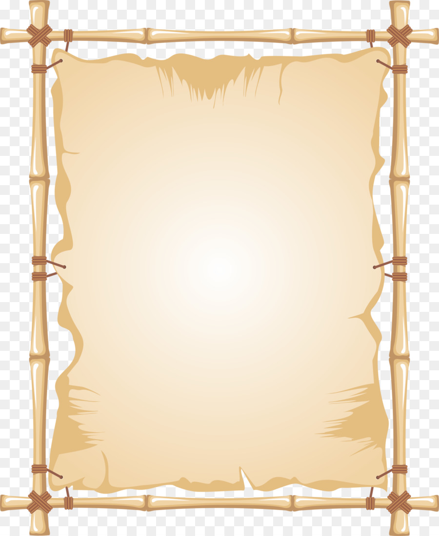 Bamboo Picture Frames Clip art - bamboo png download - 1450*1772 ...