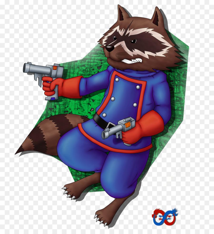 Rocket Raccoon Cartoon png download - 825*968 - Free