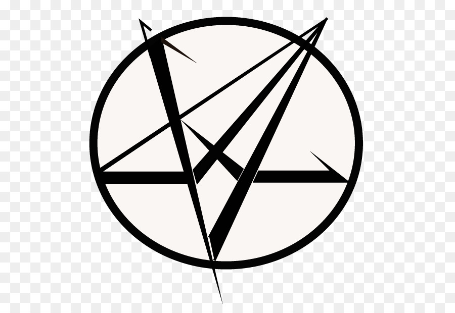 Satanism Symbol Pentacle Invertit Pentagram Supernatural Png
