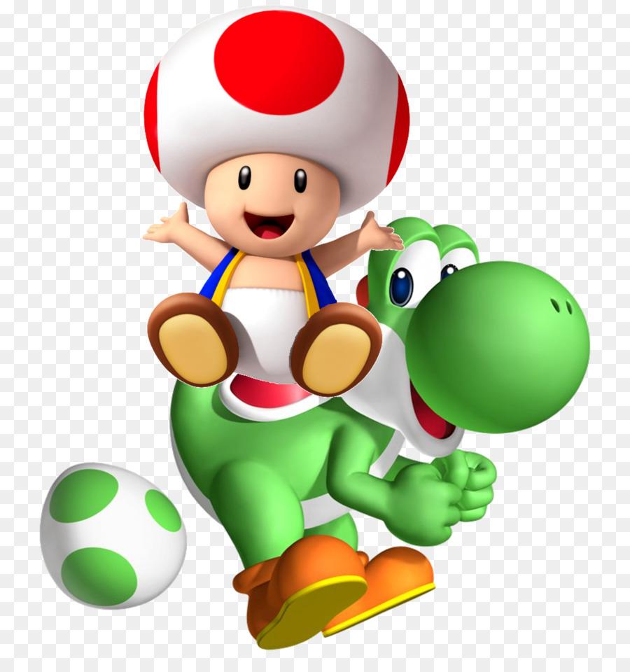 Mario & Yoshi Toad Super Mario Kart Super Nintendo Entertainment ...