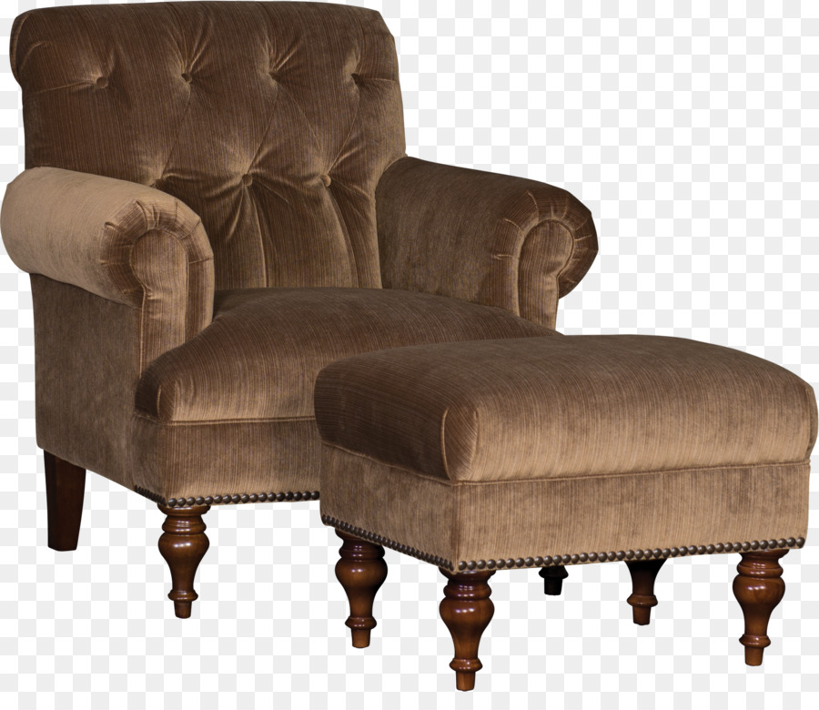 Club Chair Foot Rests Furniture Couch   Ottoman