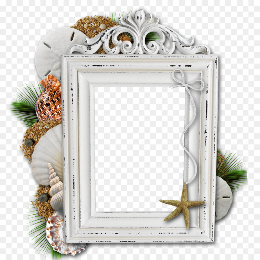 Picture Frames Beach Film frame - title frame png download - 1600 ...
