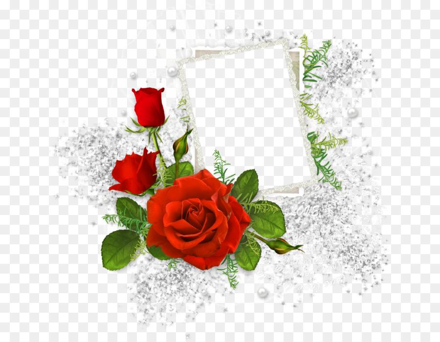 Floral Wedding Invitation Background png download - 699*697