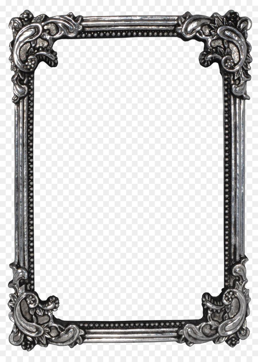 picture frames digital photo frame clip art antique png download 1801 2500 free. Black Bedroom Furniture Sets. Home Design Ideas