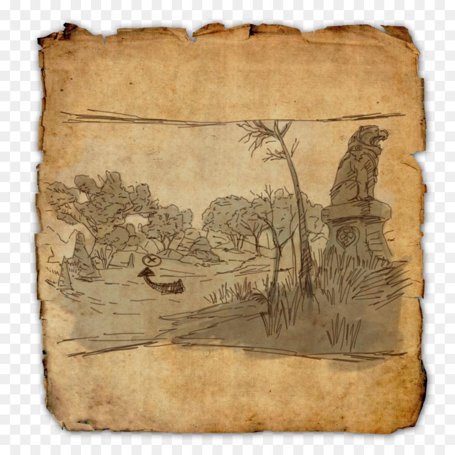 The Elder Scrolls Online Schatz Karte World Map - Piraten Karte png ...