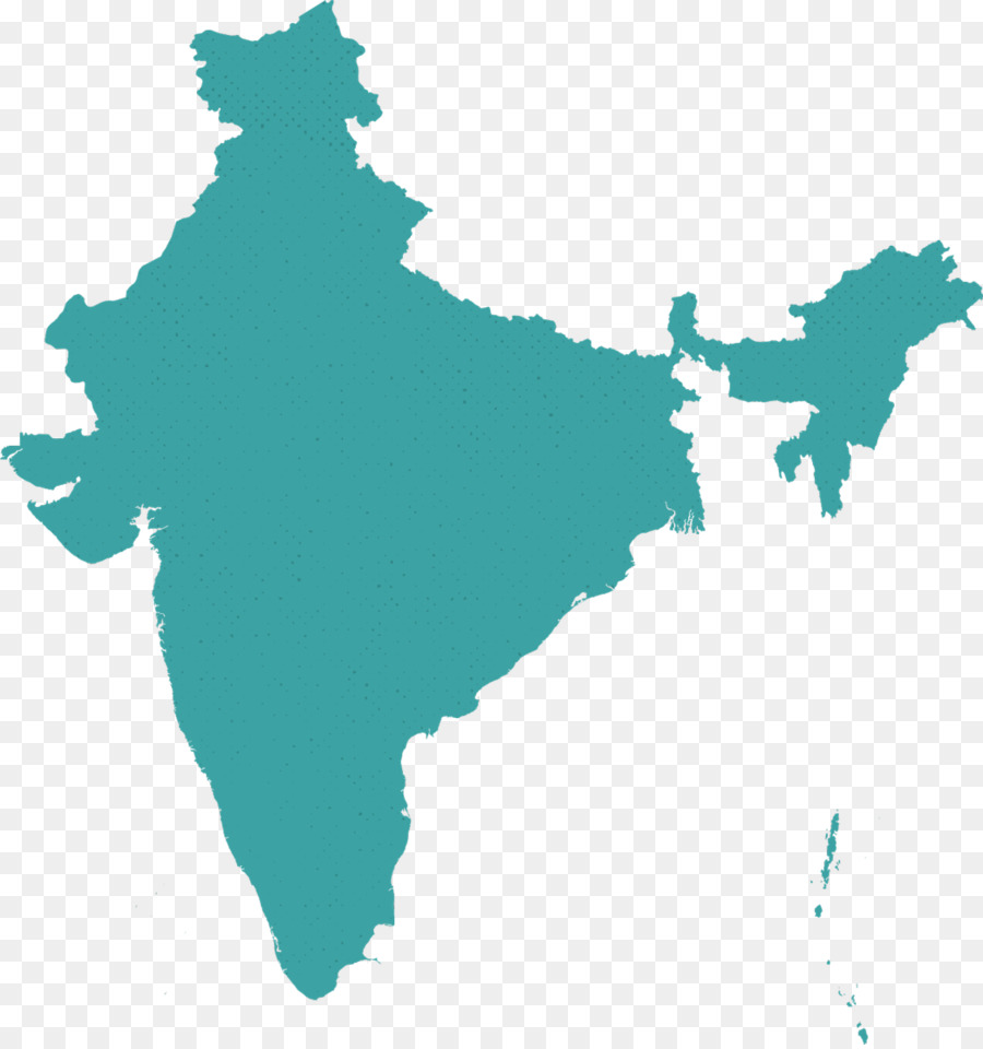 Flag Of India Vector Map   India Map