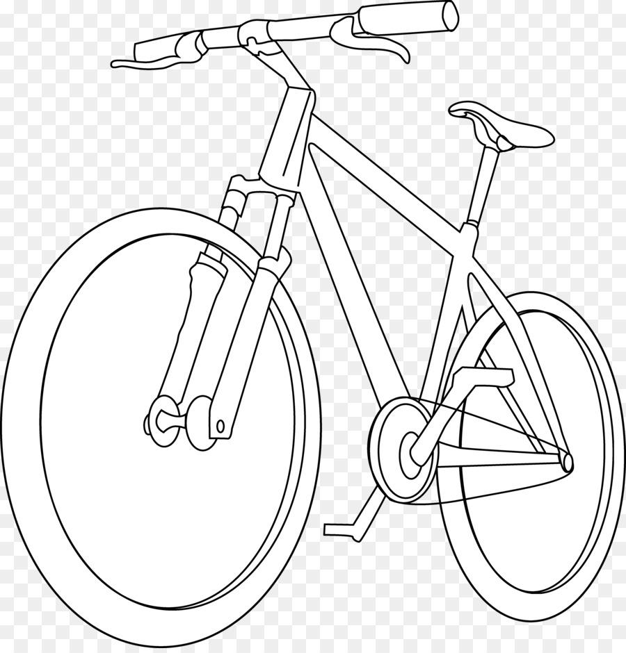 Sepeda Buku Mewarnai Gambar Motor Clip Art Helm Sepeda Unduh
