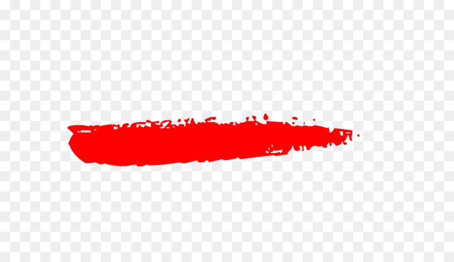 Brush Painting - RED LINES png download - 1021*570 - Free ...