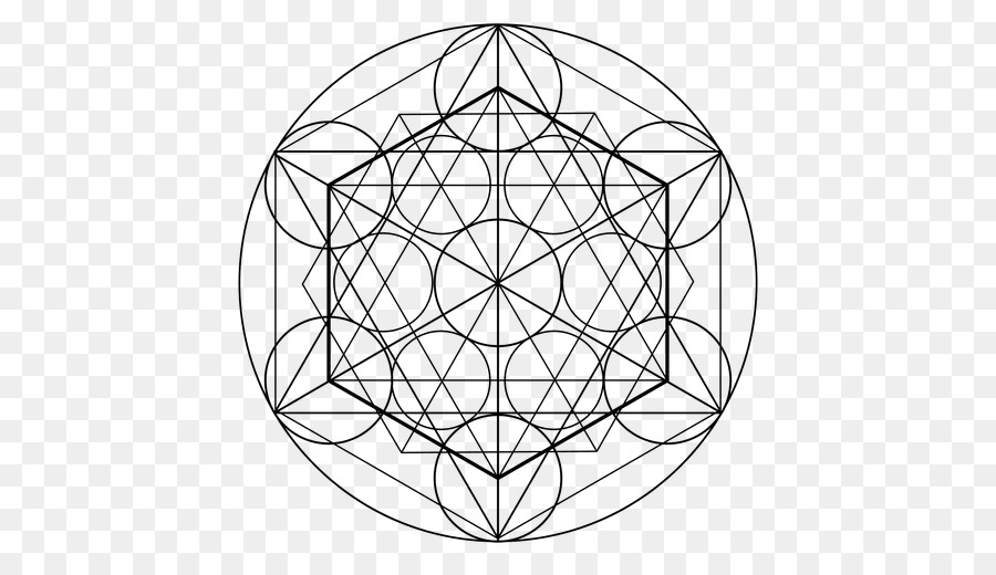 symbol sacred geometry overlapping circles grid geometric