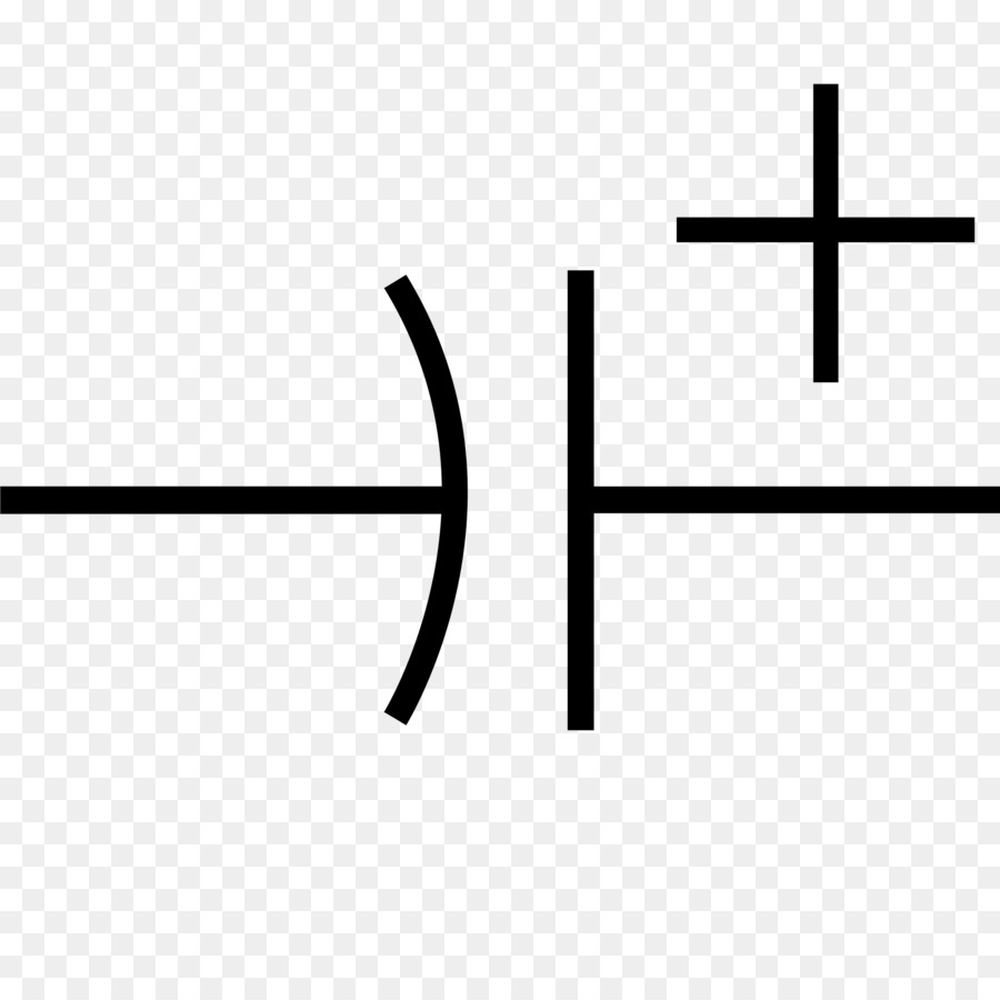 Electronic symbol Electrolytic capacitor Supercapacitor - symbols ...