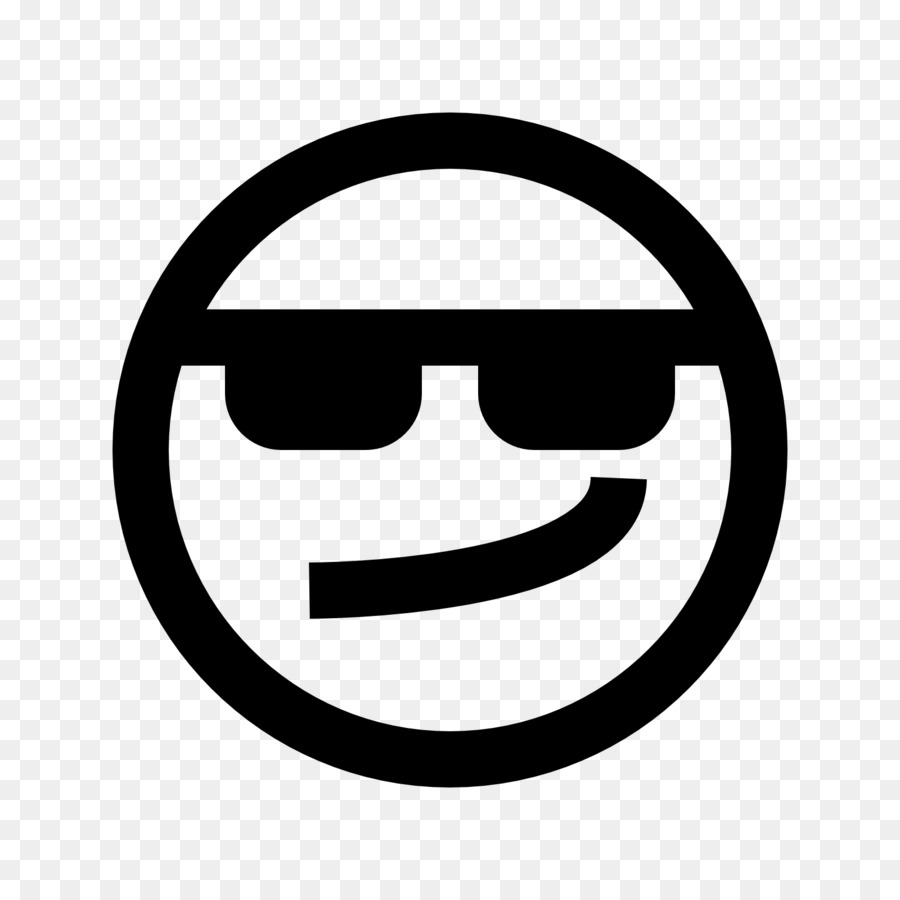 Computer Icons Symbol Smiley Emoticon Cool Png Download 1600