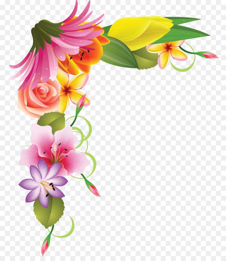floral design flower clip art floral corner png download