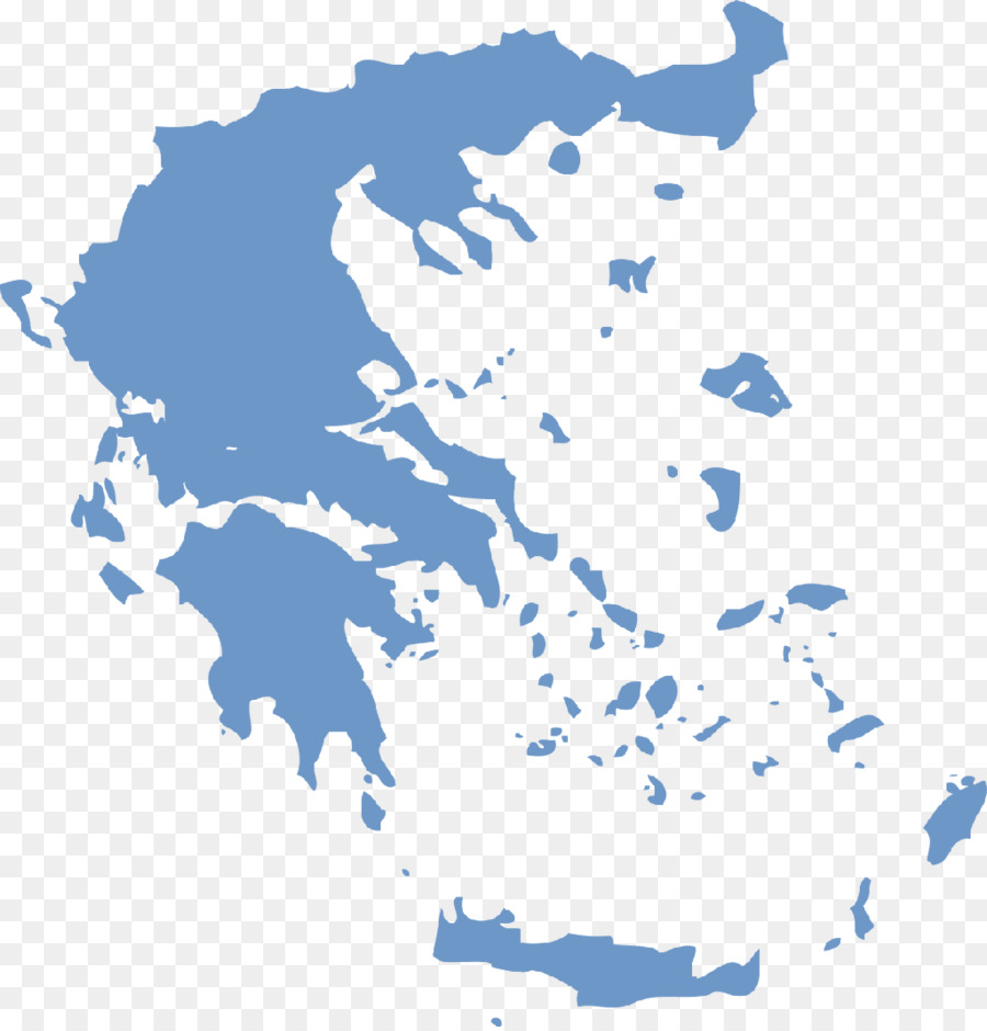 Crete Vector Map Blank Map Greece Png Download 1024 1065 Free