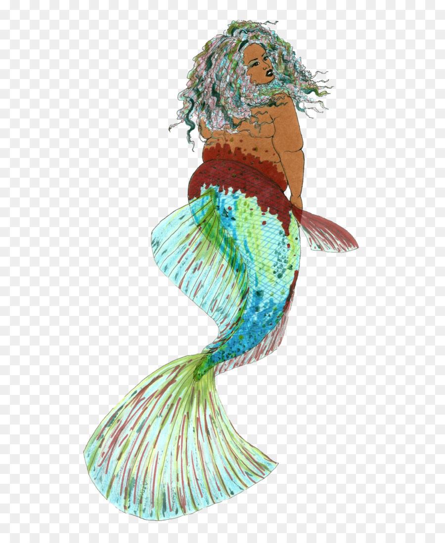 Mermaid Ariel Siamese fighting fish Drawing - betta & Mermaid Ariel Siamese fighting fish Drawing - betta png download ...