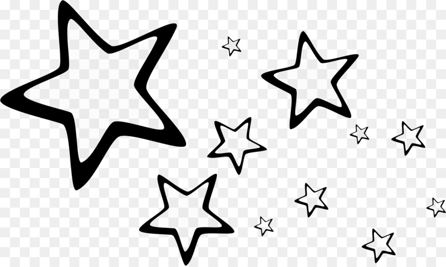 Star Blue Desktop Wallpaper Drawing White