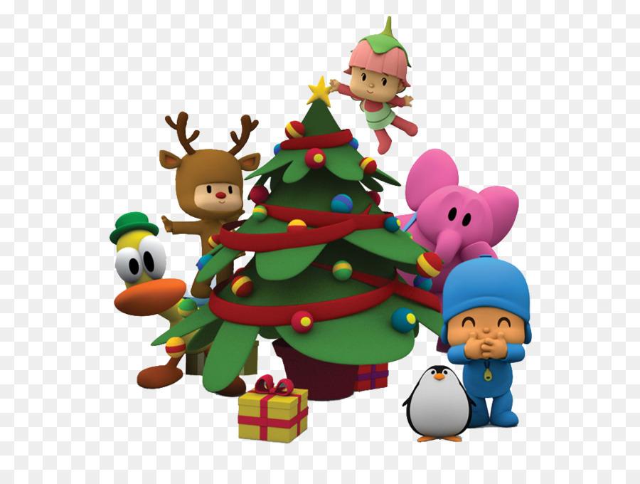 christmas desktop wallpaper cartoon jigsaw puzzles pocoyo