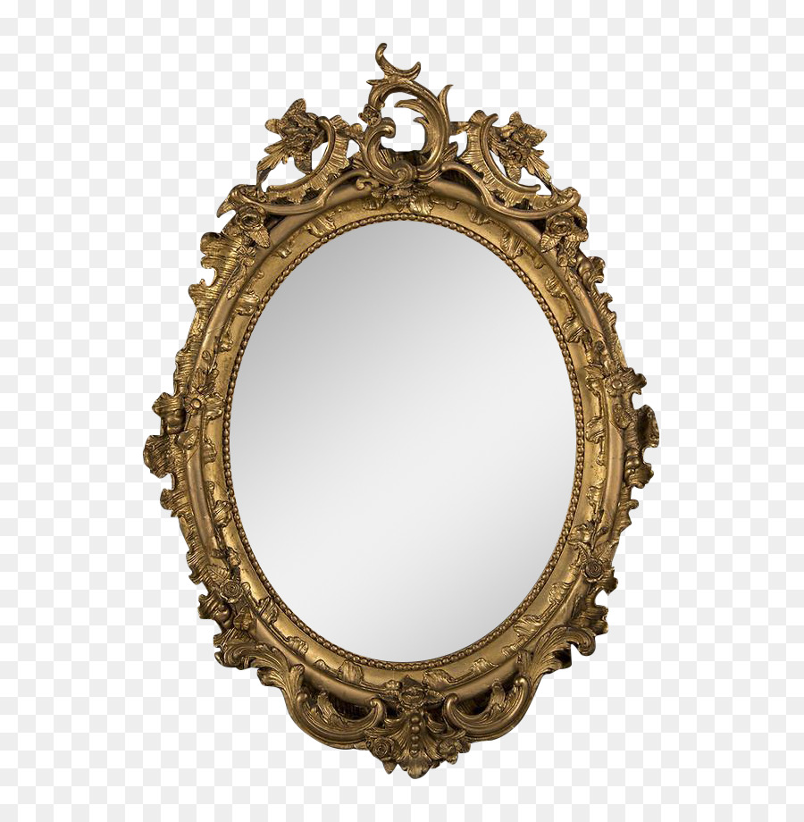 Old Fashioned Picture Frames Stock photography Mirror Antique ...