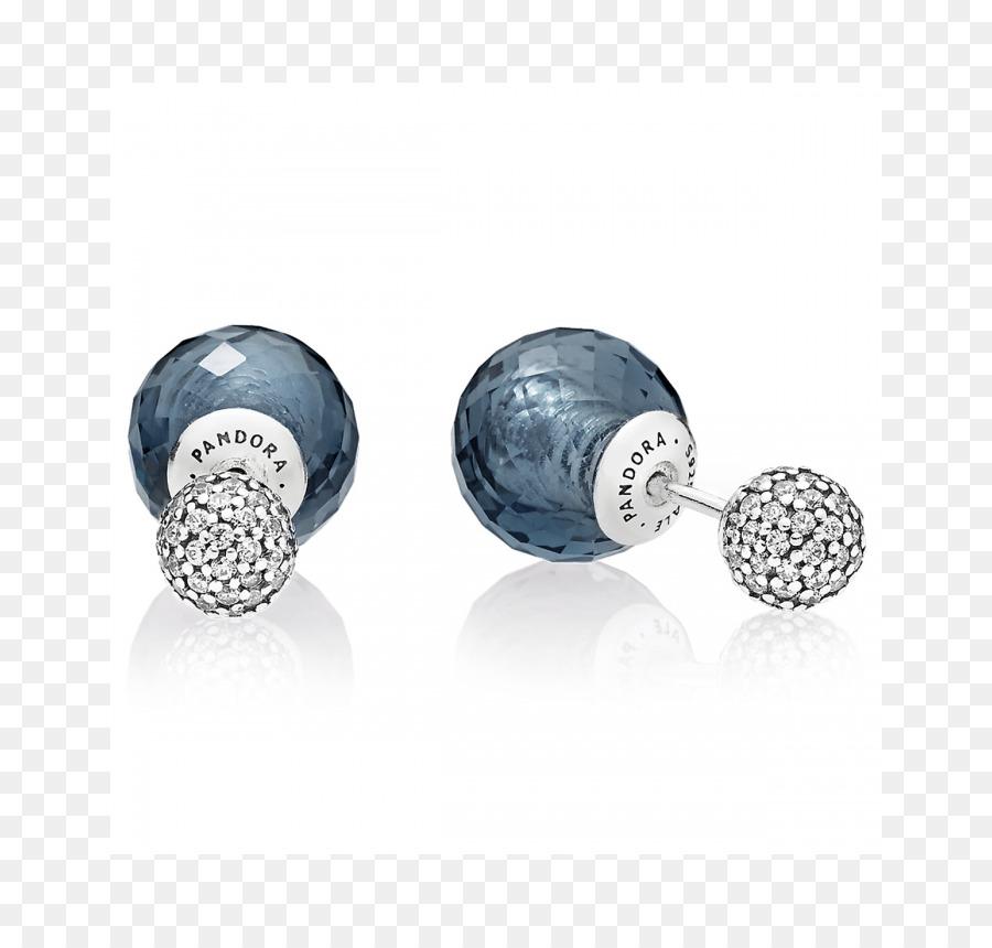 66f9cedf1 Earring Pandora Jewellery Cubic zirconia Charm bracelet - pandora ...