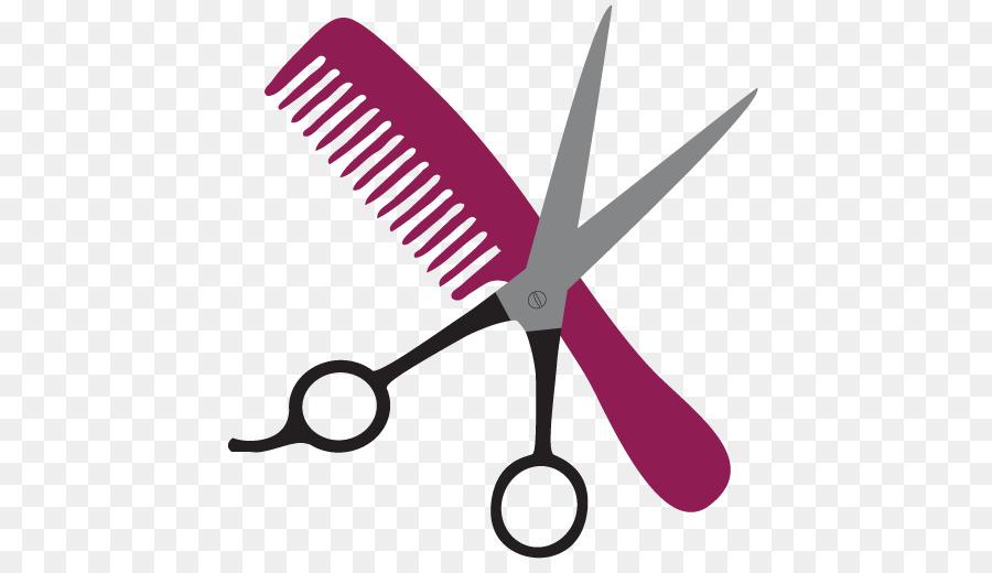Hair Style Tools: الأرجواني Png & قصاصة فنية