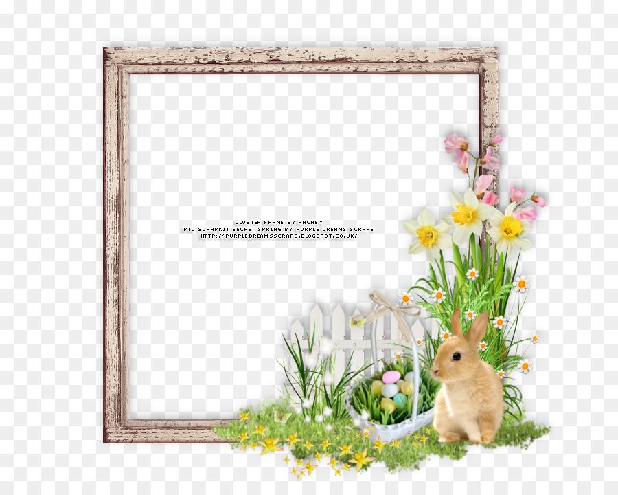 Picture Frames Easter Digital scrapbooking - easter frame png ...