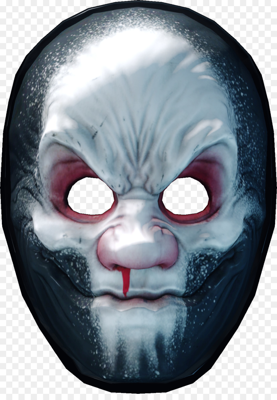 Payday 2 Head png download - 1037*1475 - Free Transparent Payday 2