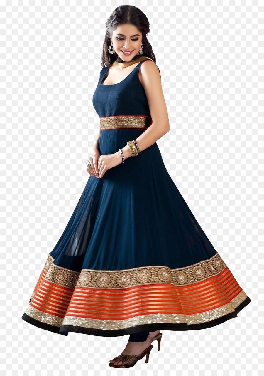 9f1457161 Anarkali Salwar Suit Dress Shalwar kameez Georgette - dress png ...
