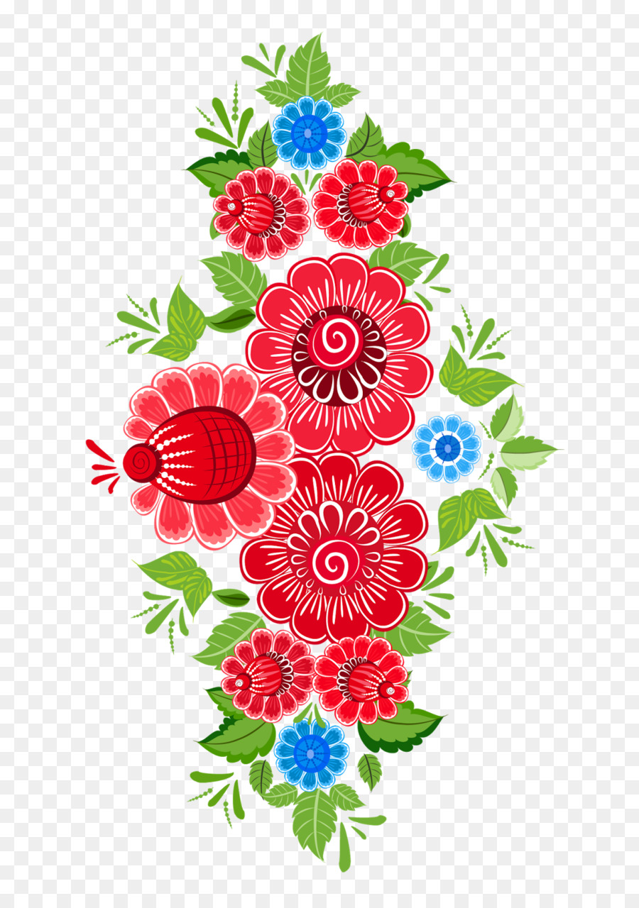 Flower Ornament Art Floral design Pattern - MEXICAN FLOWERS png ...