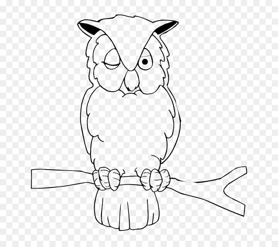 Búho libro para Colorear de Dibujo de Aves Clip art - RIP Formatos ...