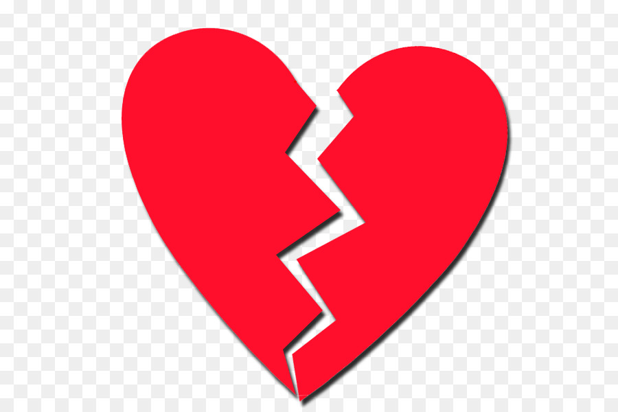 Broken Heart Symbol Clip Art Broken Heart Png Download 610594