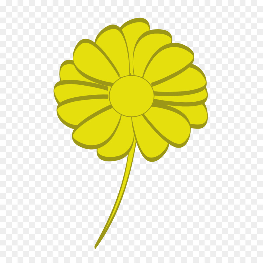 Yellow Computer Icons Clip art - flower wall png download - 999*990 ...