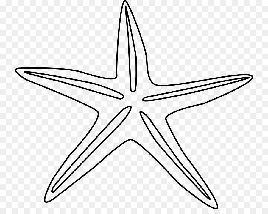 Estrellas de mar de Dibujo Clip art - black star Formatos De Archivo ...