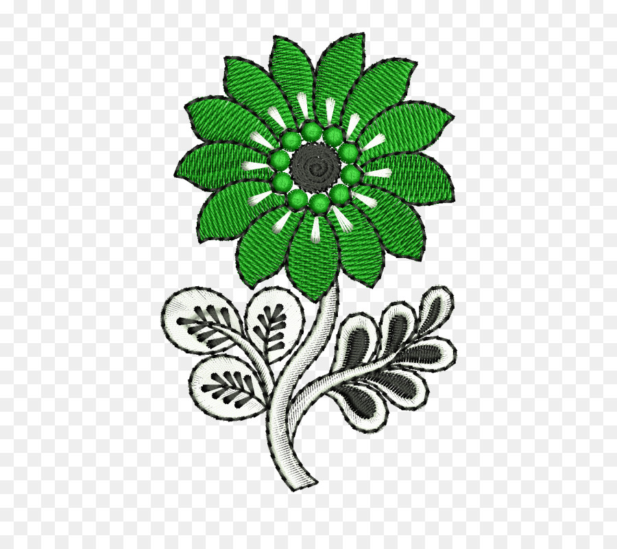 Flower Embroidery Designs Pattern Embroidery Png Download 800