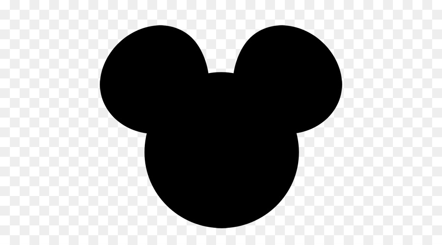 mickey mouse minnie mouse silhouette clip art ears png download rh kisspng com mickey mouse ears clip art free mickey mouse ears clip art high resolution