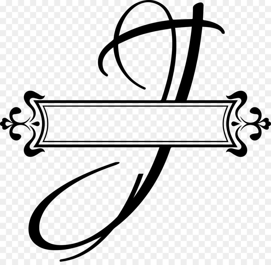 Letter Cursive Alphabet Monogram Font