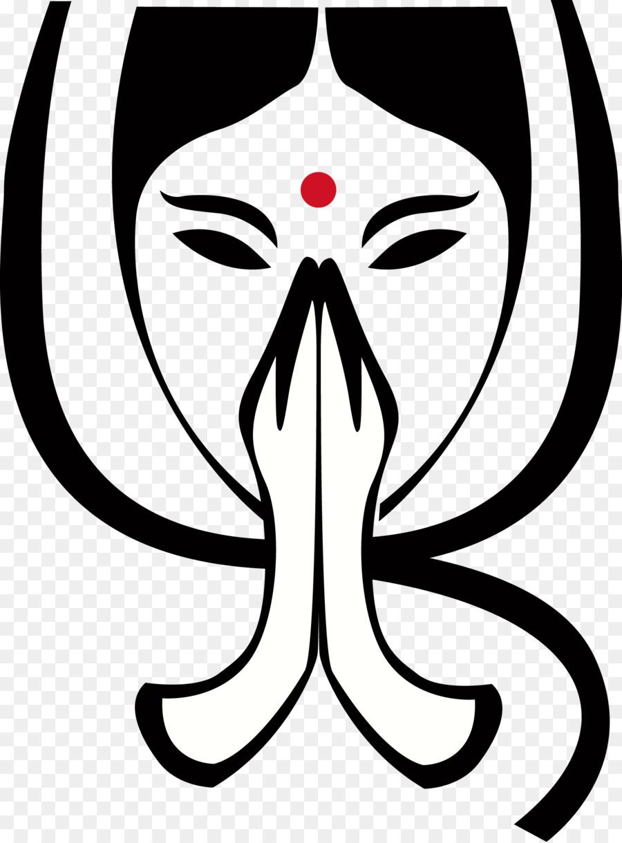 Namaste Desktop Wallpaper Clip Art Hinduism Png Download 1586