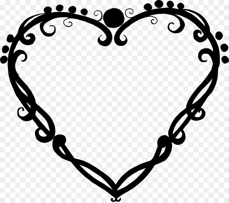 Heart Clip art - heart frame png download - 1024*906 - Free ...