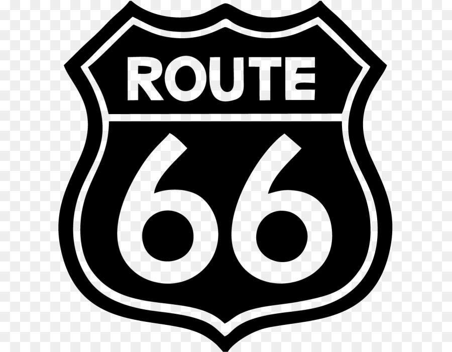 U s route 66 car sticker wall decal route