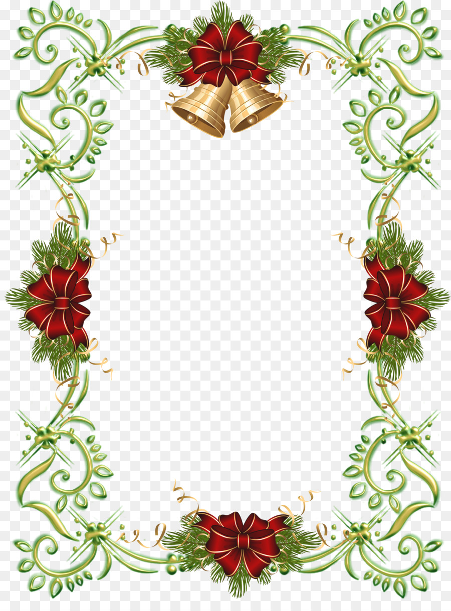 borders and frames christmas santa claus clip art ornament frame
