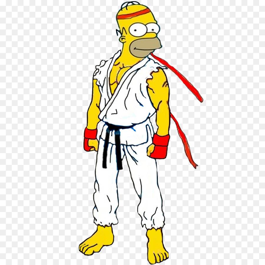 Homer simpson bart simpson marge simpson l nea de arte de - Marge simpson et bart ...