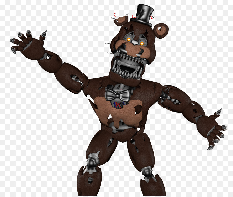 Five Nights At Freddy's 4 Nightmare FNaF World Game