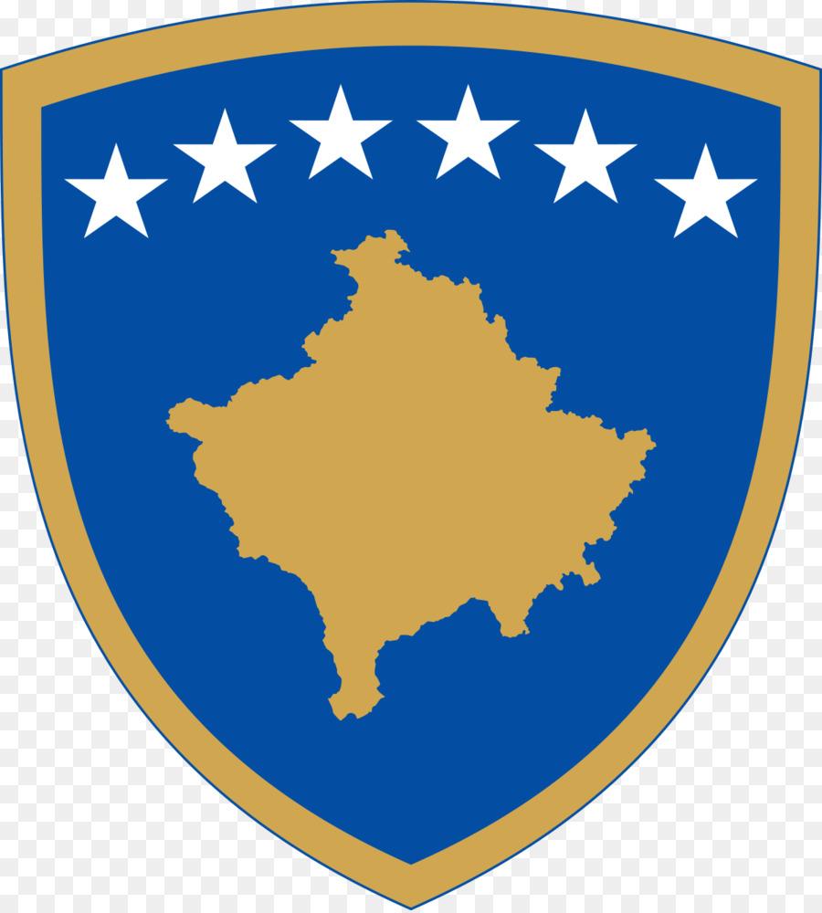 2008 Kosovo declaración de independencia de la Capa de brazos de ...