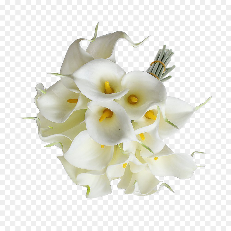 Flower bouquet Wedding Bride Arum-lily - callalily png download ...