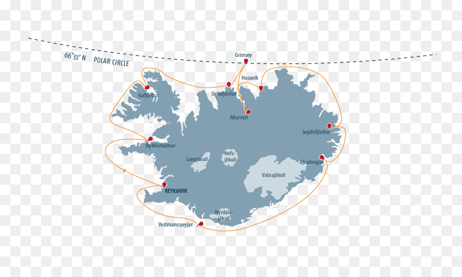 Iceland Vector Map - cruise png download - 800*527 - Free ...