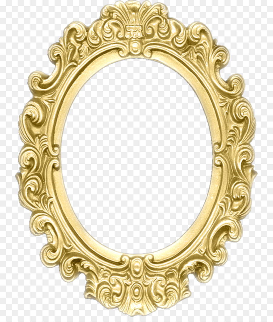 Picture Frames Drawing Baroque Ornament Mirror - photograph png ...