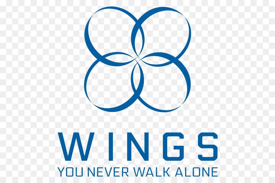 2017 bts live trilogy episode iii the wings tour logo k pop blue