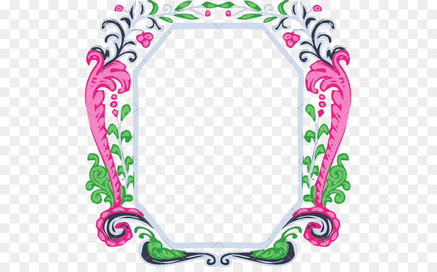 Picture Frames Body Jewellery Clip art - vintage border png download ...