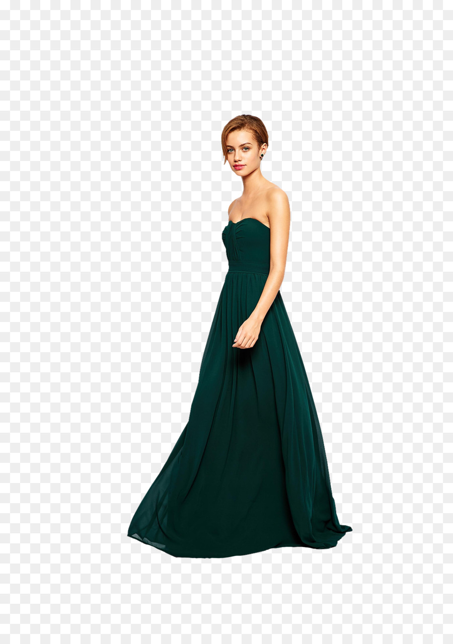 Dress Evening gown Bandeau Petite size Fashion - party people png ...