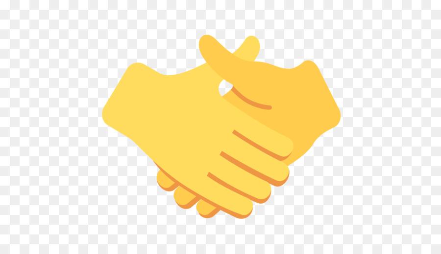 emojipedia handshake meaning holding hands - hand emoji png download - 512 512