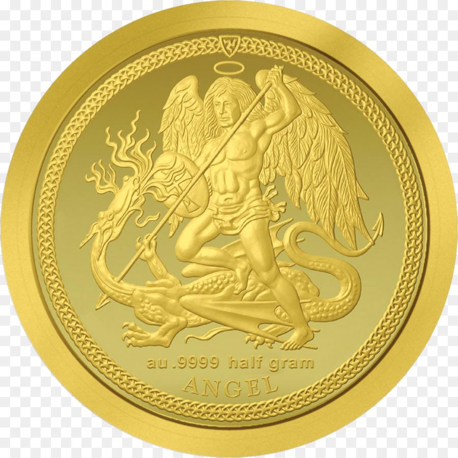 Münze Isle Of Man Gold Michael Engel Silbermünze Png Herunterladen