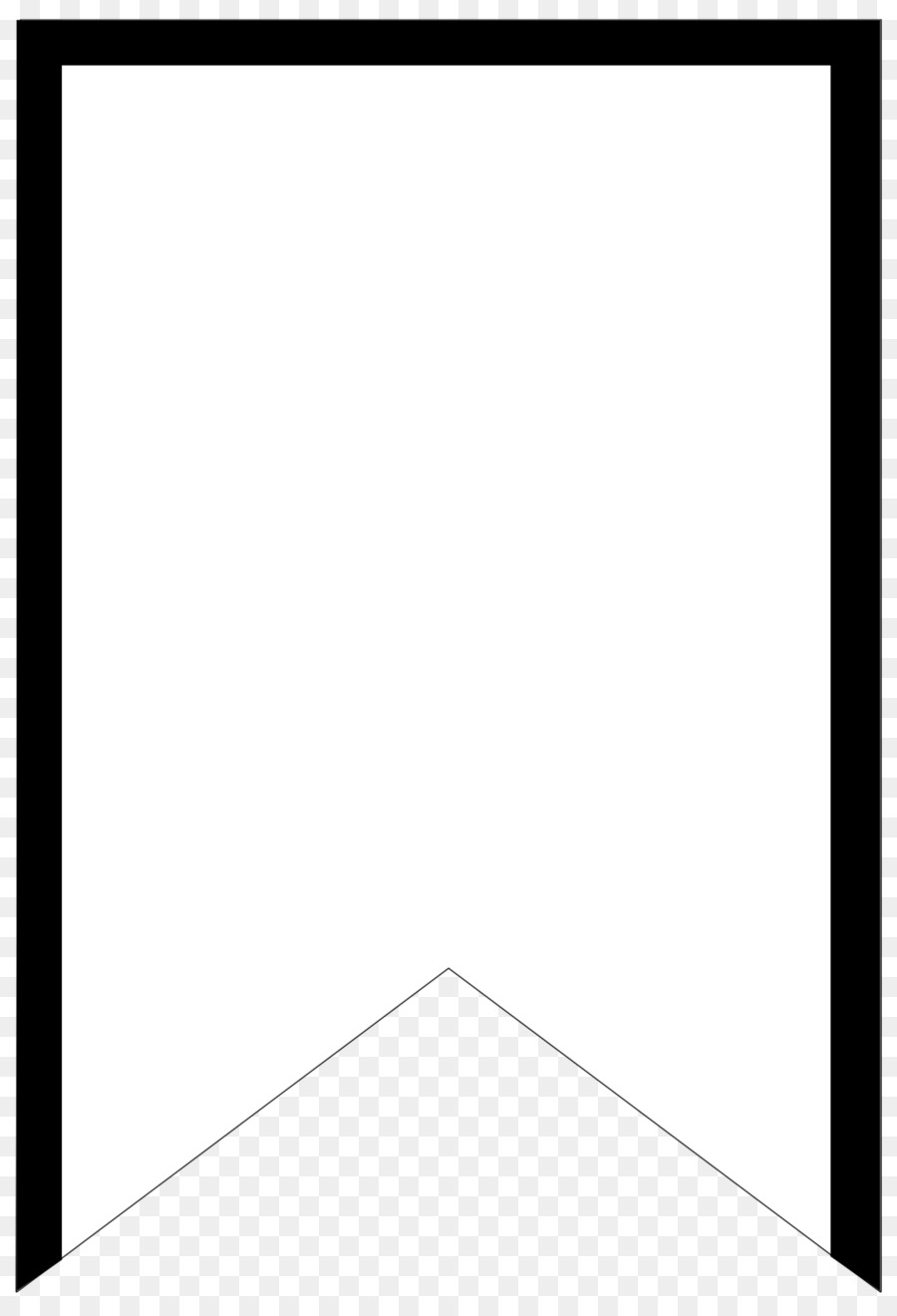 Banner Pennon Flag Paper Pattern - pennant png download - 1424*2083 ...